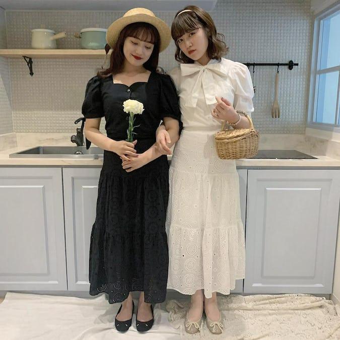 【7/1~順次発送】ribbon short bl