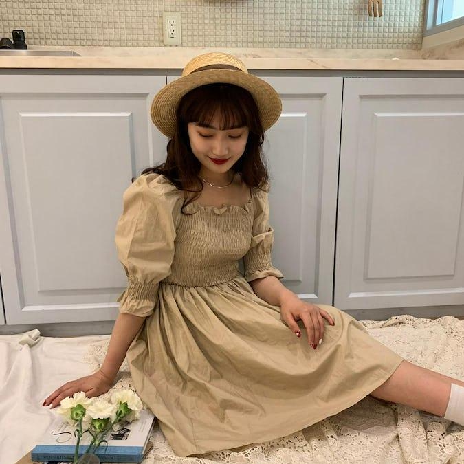 【7/1~順次発送】shirring mini op