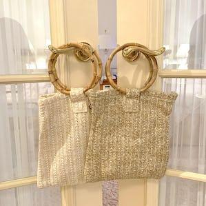 2way  straw bag