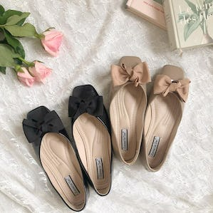 ribbon ballet shoes