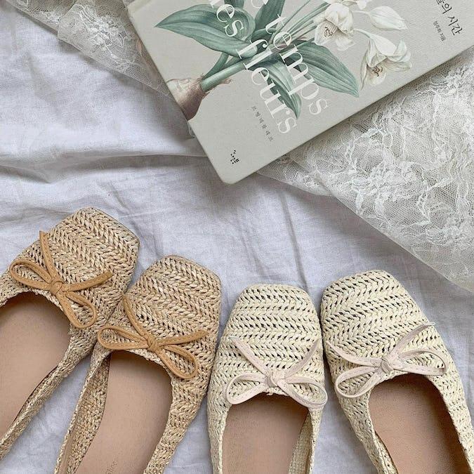 summer ballet shoes