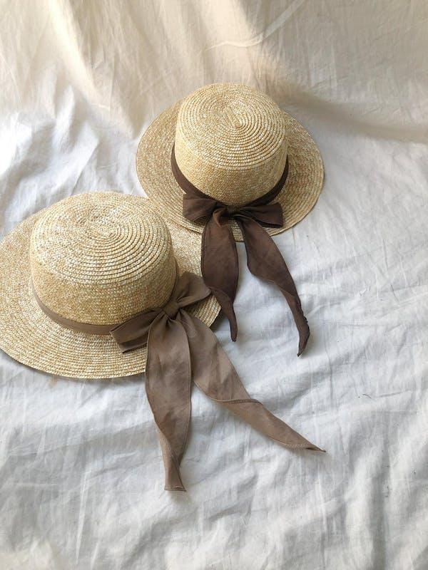 cancan ribbon hatの画像1枚目