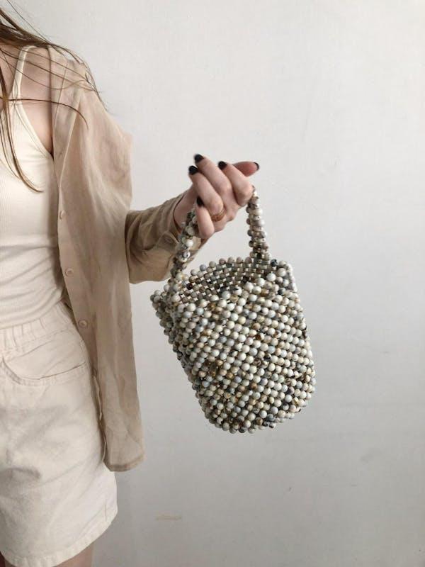 sea stone bagの画像1枚目