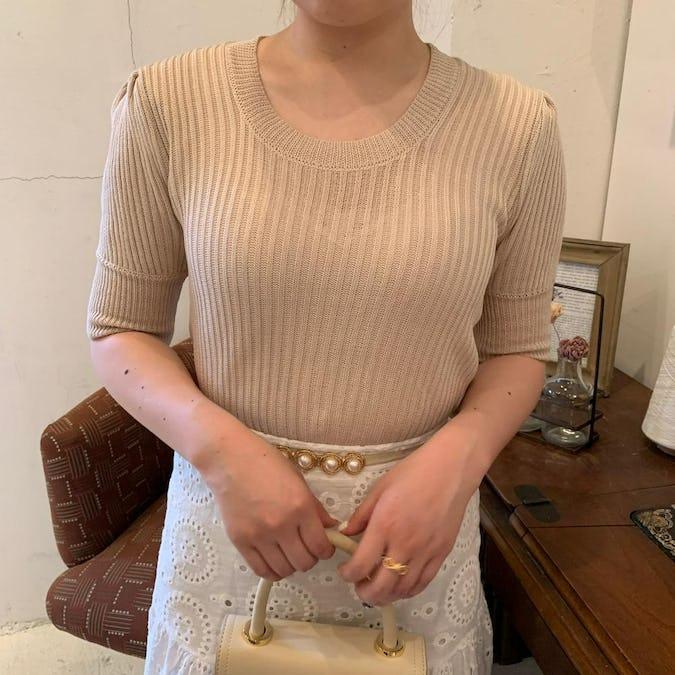 パフニットTシャツ