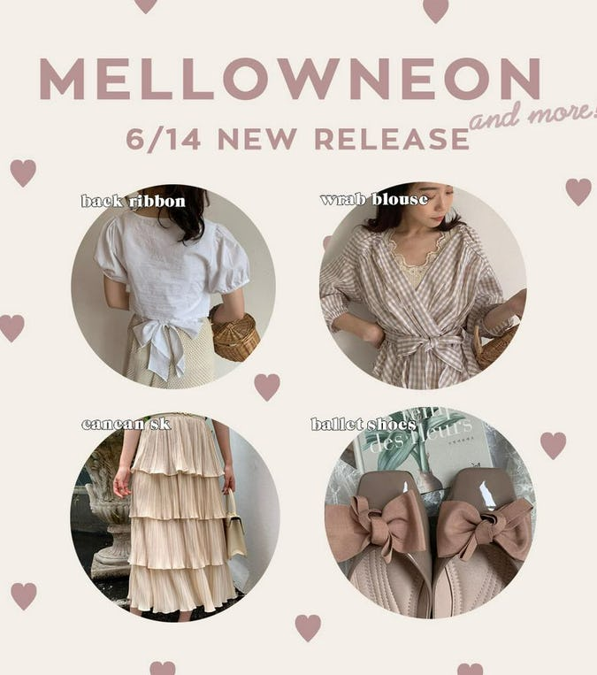 mellowneon 6/14 New release item