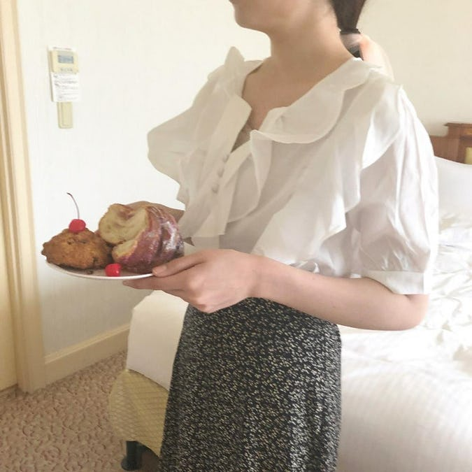 frill frill blouse-0