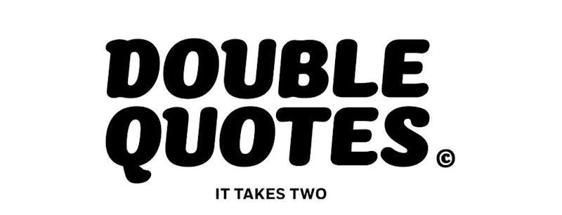 doublequotes