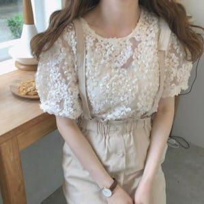 hydrangea blouse