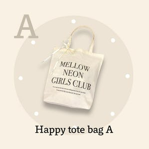 happy tote bag A