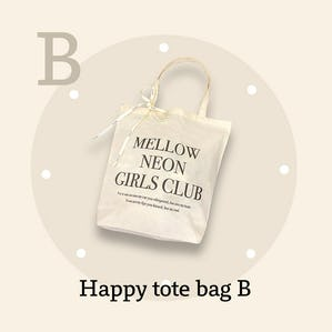 happy tote bag B