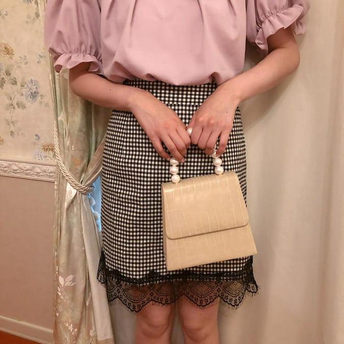 pearl lady bag