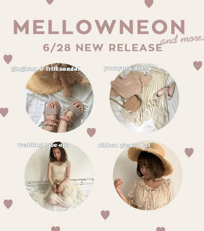 mellowneon 6/28 New release item