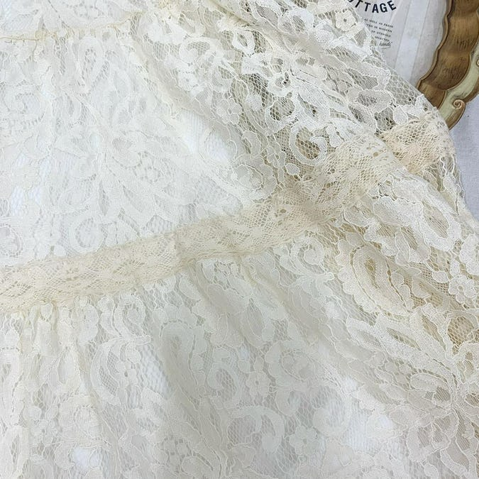lace flower ops