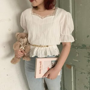 pudding blouse