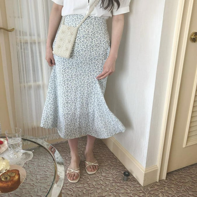 french flower skirt-0