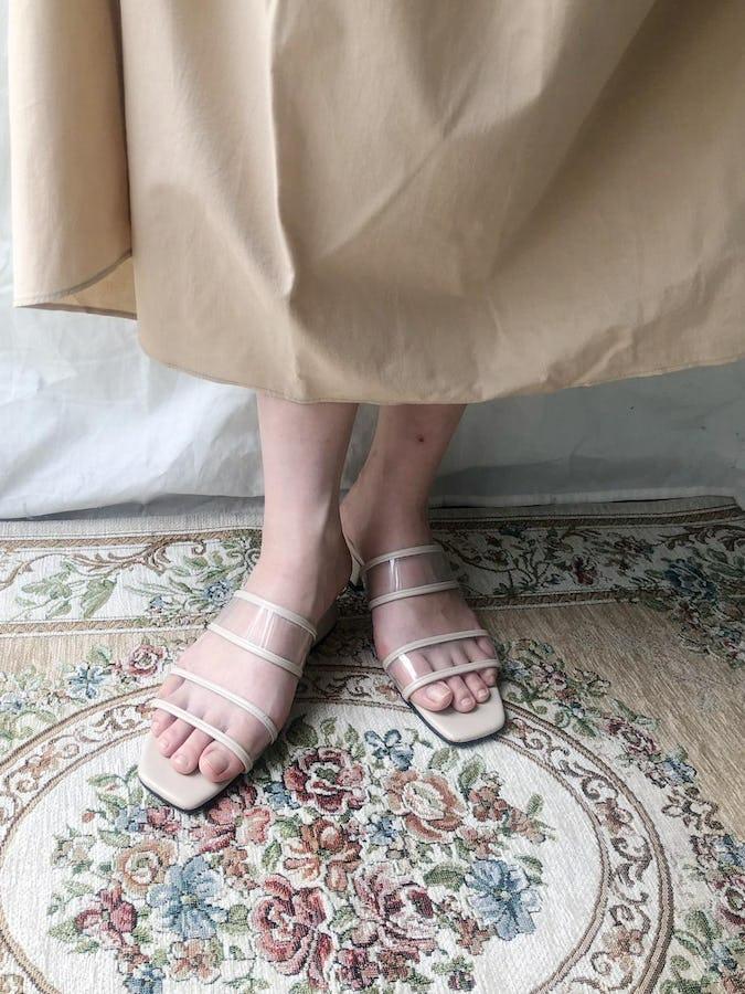 clear sandal-0