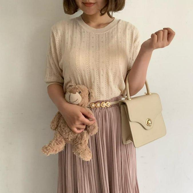 summer knit T