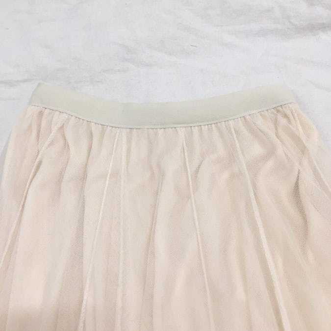 shine lace tulle sk