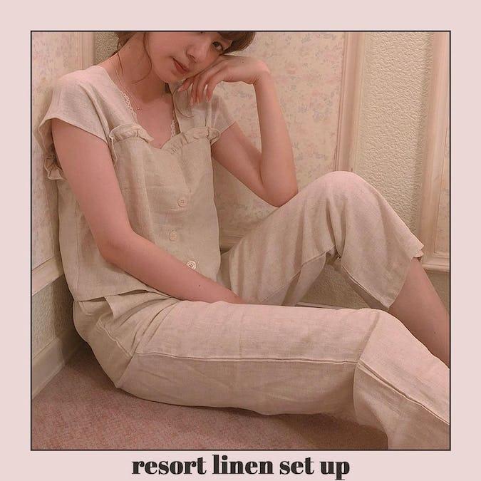 resort linen set up-0