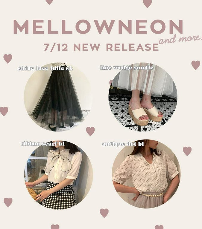 mellowneon 7/12 New release item