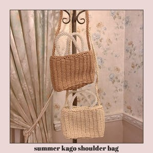 summer kago shoulder bag