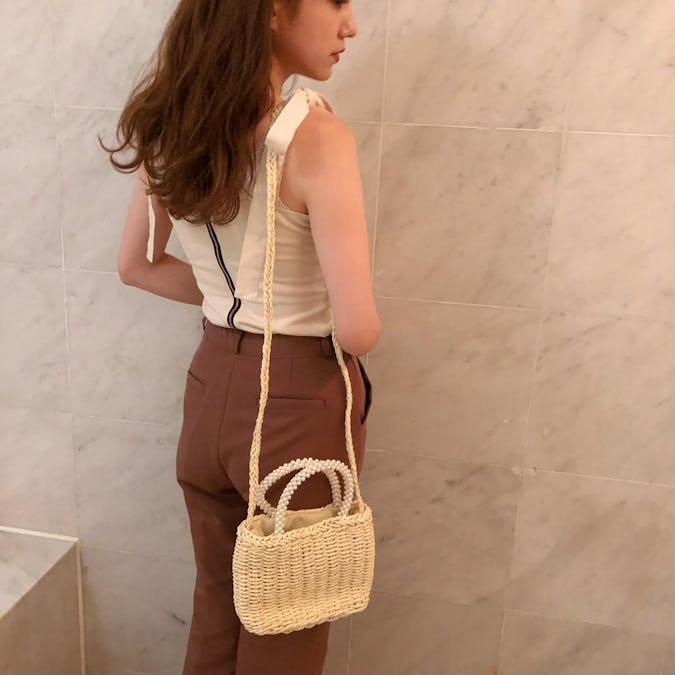 summer kago shoulder bag