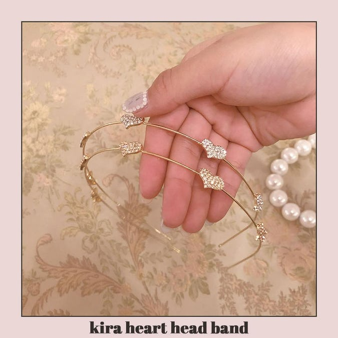 kira heart head band-0