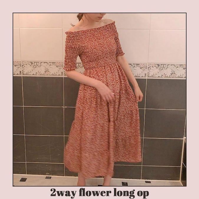 2way flower long op-0