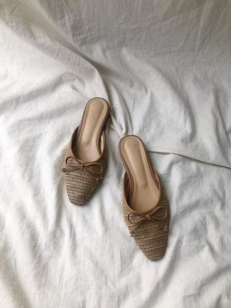 straw sandalの画像1枚目