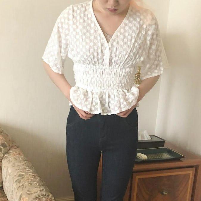coton race blouse-0