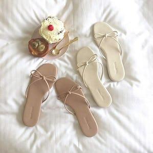ribbon slipper