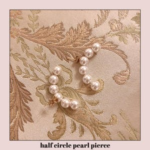 half circle pearl pierce