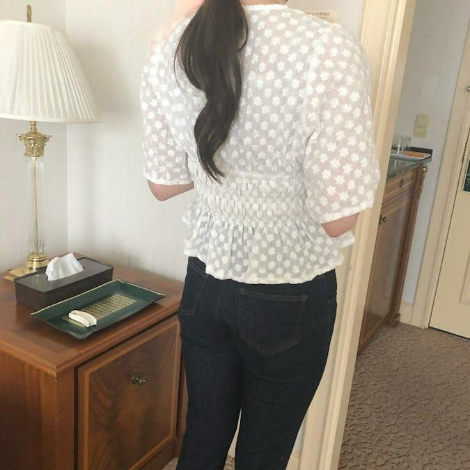 coton race blouse