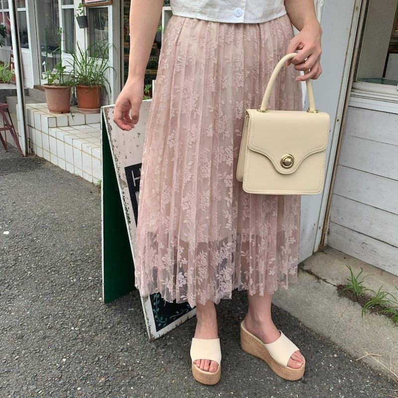 ローズレーススカートの画像1枚目
