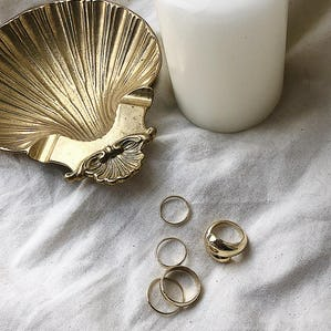 5 piece set rings