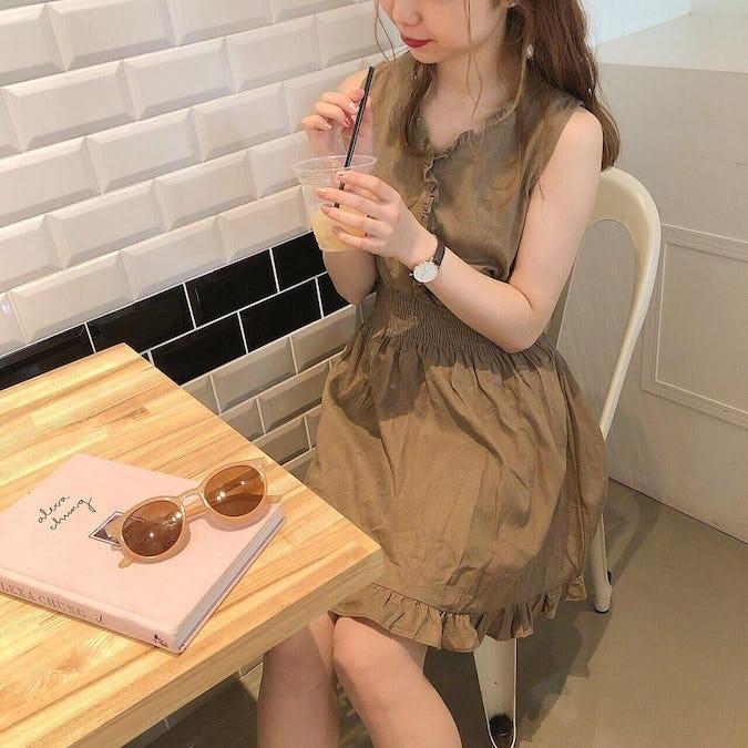 chocolate shirring ops