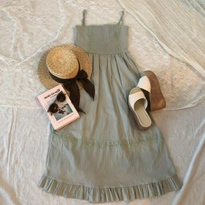 lovely mint cami ops