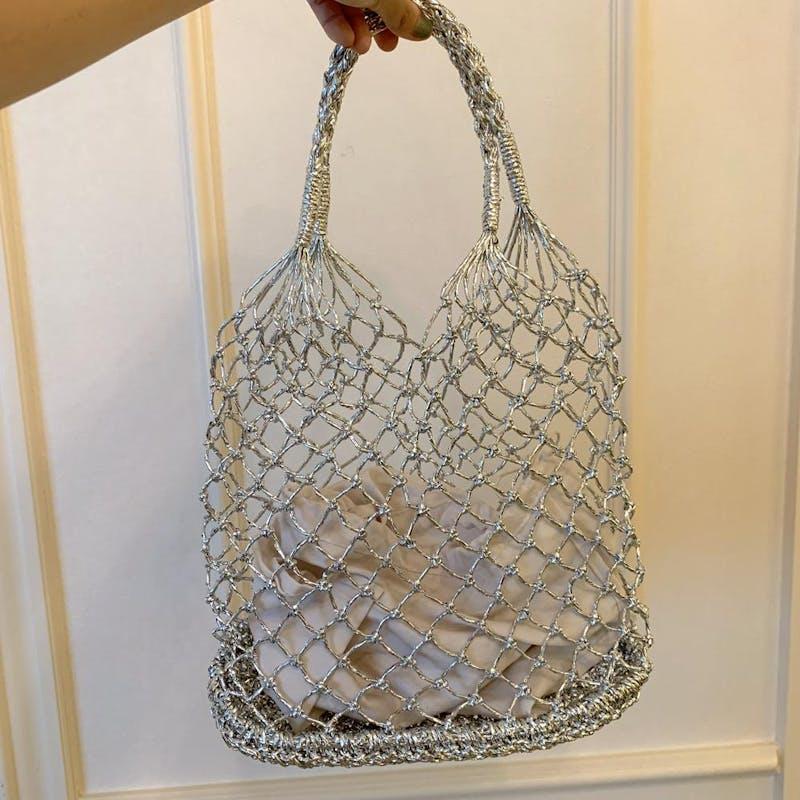 かぎ編みバッグの画像5枚目