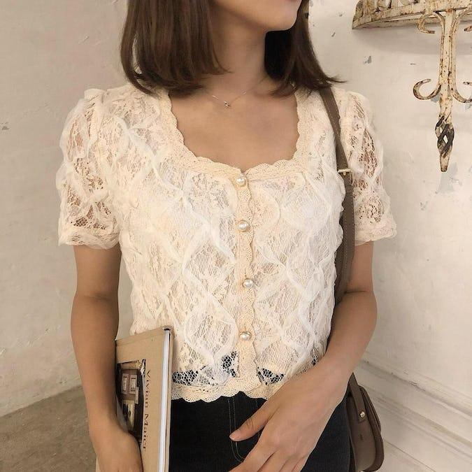 lace princess blouse-0