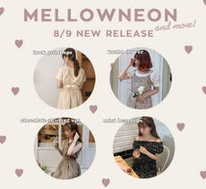 mellowneon 8/9 New release items