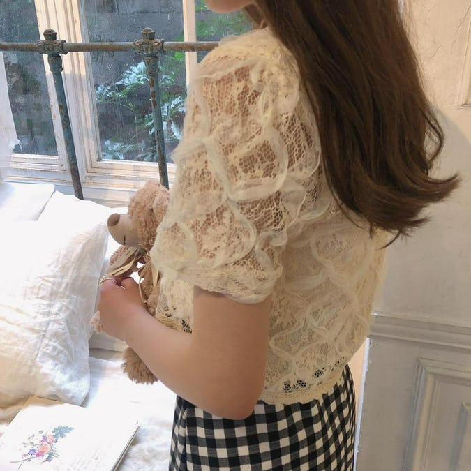 lace princess blouse