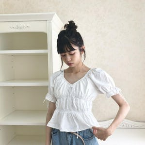 ribbon ribbon blouse
