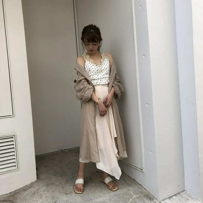 【felicità】rose peplum thermal bustier