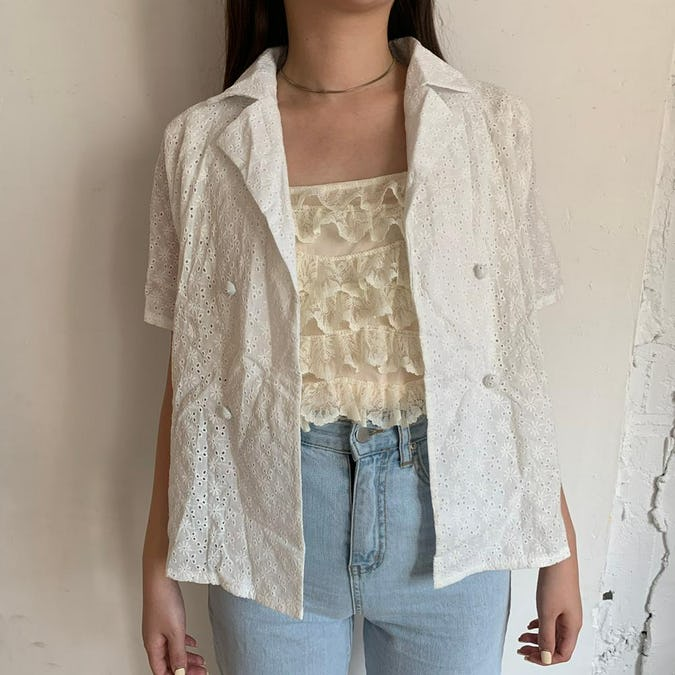 natural blouse