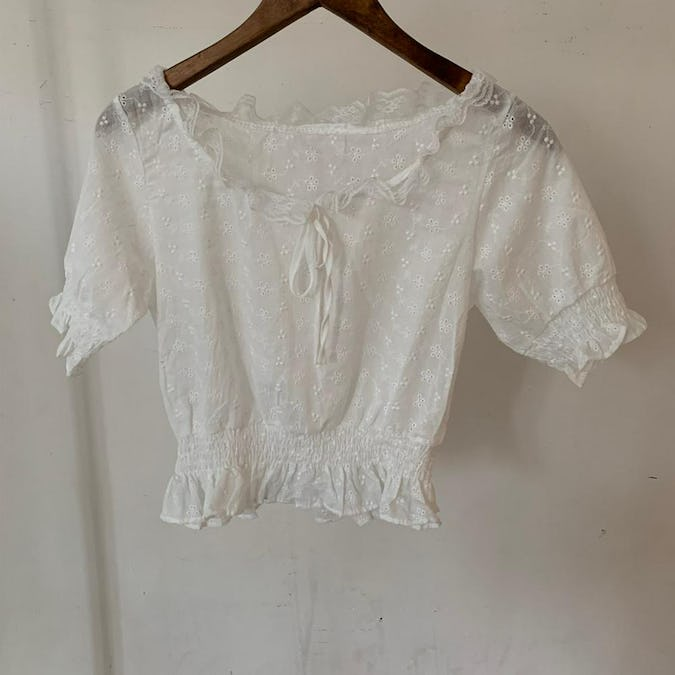 cutie baby blouse