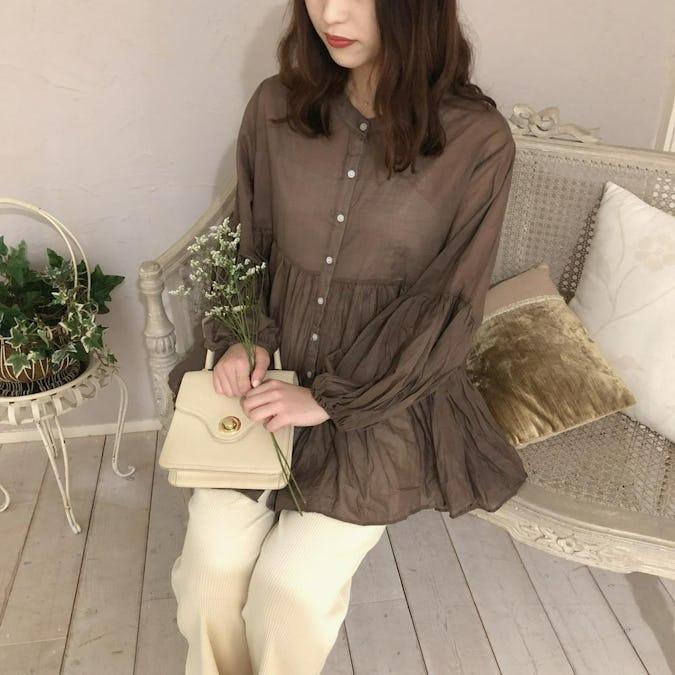 loen frill blouse-0