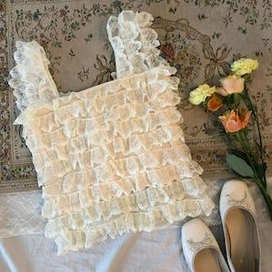 cangcang lace no sleeve