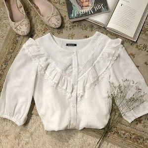 v line blouse