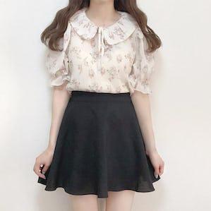 girly flare skirt
