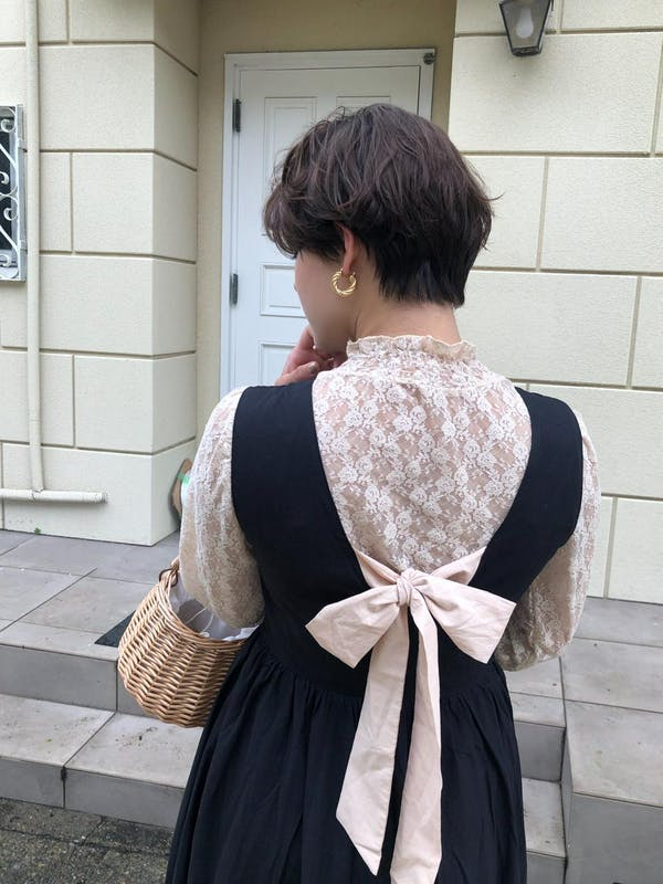 back ribbon onepieceの画像33枚目